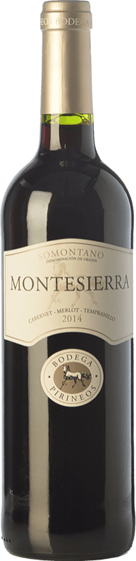 4,95 € Envoi gratuit   Vin rouge Pirineos Montesierra Joven D.O. Somontano Aragon Espagne Tempranillo, Cabernet Sauvignon Bouteille 75 cl