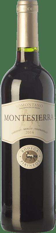 4,95 € Envío gratis   Vino tinto Pirineos Montesierra Joven D.O. Somontano Aragón España Tempranillo, Cabernet Sauvignon Botella 75 cl