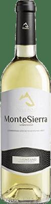 5,95 € Free Shipping | White wine Pirineos Montesierra Joven D.O. Somontano Aragon Spain Macabeo, Chardonnay Bottle 75 cl