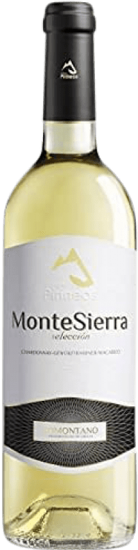 4,95 € Envío gratis   Vino blanco Pirineos Montesierra Joven D.O. Somontano Aragón España Macabeo, Chardonnay Botella 75 cl