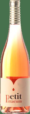 5,95 € Kostenloser Versand | Rosé-Wein Pittacum Petit D.O. Bierzo Kastilien und León Spanien Mencía Flasche 75 cl
