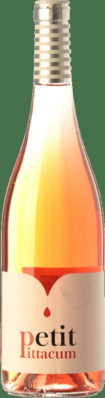 5,95 € Envío gratis | Vino rosado Pittacum Petit D.O. Bierzo Castilla y León España Mencía Botella 75 cl