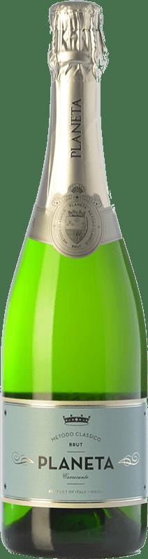 19,95 € Free Shipping   White sparkling Planeta Brut I.G.T. Terre Siciliane Sicily Italy Carricante Bottle 75 cl