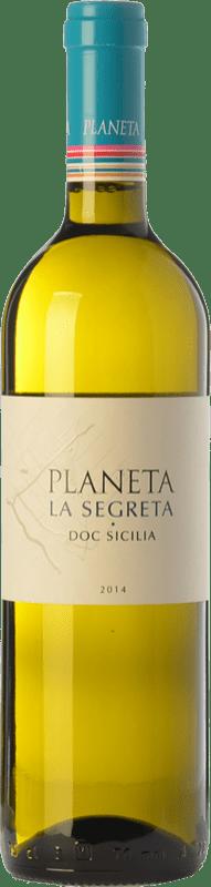9,95 € Envoi gratuit | Vin blanc Planeta La Segreta Bianco I.G.T. Terre Siciliane Sicile Italie Viognier, Chardonnay, Fiano, Grecanico Dorato Bouteille 75 cl