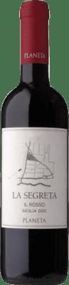11,95 € Free Shipping | Red wine Planeta La Segreta Rosso I.G.T. Terre Siciliane Sicily Italy Merlot, Syrah, Cabernet Franc, Nero d'Avola Bottle 75 cl