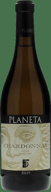 25,95 € Free Shipping   White wine Planeta I.G.T. Terre Siciliane Sicily Italy Chardonnay Bottle 75 cl