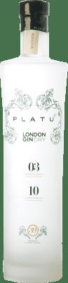 26,95 € Free Shipping | Gin Platu London Gin Galicia Spain Bottle 70 cl