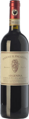16,95 € Free Shipping | Red wine Il Palazzino Argenina D.O.C.G. Chianti Classico Tuscany Italy Sangiovese Bottle 75 cl