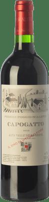 53,95 € Free Shipping | Red wine Podere Poggio Scalette Capogatto I.G.T. Alta Valle della Greve Tuscany Italy Merlot, Cabernet Sauvignon, Cabernet Franc, Petit Verdot Bottle 75 cl