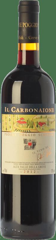 53,95 € Free Shipping   Red wine Podere Poggio Scalette Il Carbonaione I.G.T. Alta Valle della Greve Tuscany Italy Sangiovese Bottle 75 cl