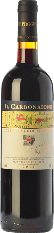 37,95 € Envoi gratuit | Vin rouge Podere Poggio Scalette Il Carbonaione I.G.T. Alta Valle della Greve Toscane Italie Sangiovese Bouteille 75 cl
