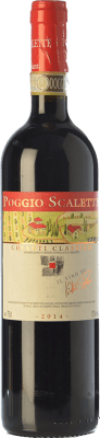 15,95 € Free Shipping | Red wine Podere Poggio Scalette D.O.C.G. Chianti Classico Tuscany Italy Sangiovese Bottle 75 cl