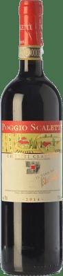 13,95 € Envoi gratuit | Vin rouge Podere Poggio Scalette D.O.C.G. Chianti Classico Toscane Italie Sangiovese Bouteille 75 cl