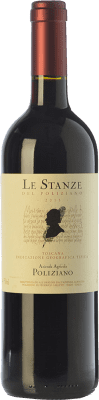 39,95 € Free Shipping | Red wine Poliziano Le Stanze I.G.T. Toscana Tuscany Italy Merlot, Cabernet Sauvignon Bottle 75 cl