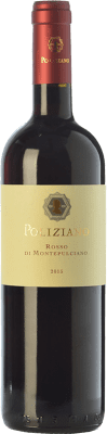 14,95 € Free Shipping | Red wine Poliziano D.O.C. Rosso di Montepulciano Tuscany Italy Merlot, Sangiovese Bottle 75 cl