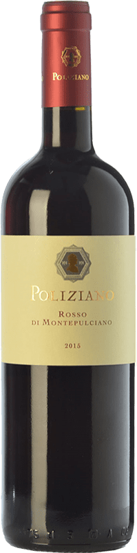 13,95 € Free Shipping | Red wine Poliziano D.O.C. Rosso di Montepulciano Tuscany Italy Merlot, Sangiovese Bottle 75 cl