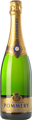 59,95 € Free Shipping | White sparkling Pommery Grand Cru 2005 A.O.C. Champagne Champagne France Pinot Black, Chardonnay, Pinot Meunier Bottle 75 cl. | Thousands of wine lovers trust us to get the best price guarantee, free shipping always and hassle-free shopping and returns.
