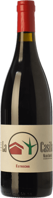 Vin rouge Ponce J. Antonio La Casilla Estrecha Crianza D.O. Manchuela Castilla La Mancha Espagne Bobal Bouteille 75 cl