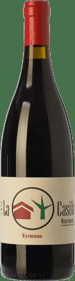 25,95 € Envío gratis | Vino tinto Ponce J. Antonio La Casilla Estrecha Crianza D.O. Manchuela Castilla la Mancha España Bobal Botella 75 cl
