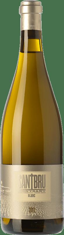 14,95 € Envoi gratuit | Vin blanc Portal del Montsant Santbru Blanc Crianza D.O. Montsant Catalogne Espagne Grenache Blanc, Chardonnay Bouteille 75 cl