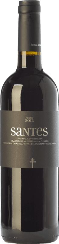 6,95 € Free Shipping | Red wine Portal del Montsant Santes Negre Joven D.O. Catalunya Catalonia Spain Tempranillo Bottle 75 cl