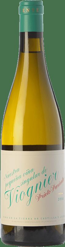 17,95 € Free Shipping | White wine Prieto Pariente Crianza I.G.P. Vino de la Tierra de Castilla y León Castilla y León Spain Viognier Bottle 75 cl