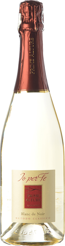 18,95 € Free Shipping | White sparkling Prime Alture Io Per Te Blanc de Noir D.O.C.G. Oltrepò Pavese Metodo Classico Lombardia Italy Pinot Black Bottle 75 cl | Thousands of wine lovers trust us to get the best price guarantee, free shipping always and hassle-free shopping and returns.
