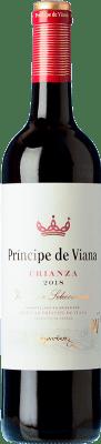 5,95 € Free Shipping | Red wine Príncipe de Viana Crianza D.O. Navarra Navarre Spain Tempranillo, Merlot, Cabernet Sauvignon Bottle 75 cl