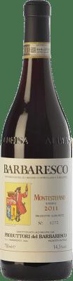 53,95 € Envío gratis | Vino tinto Produttori del Barbaresco Montestefano D.O.C.G. Barbaresco Piemonte Italia Nebbiolo Botella 75 cl