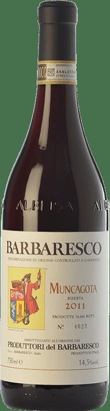 42,95 € Envío gratis | Vino tinto Produttori del Barbaresco Muncagota D.O.C.G. Barbaresco Piemonte Italia Nebbiolo Botella 75 cl