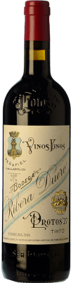 Red wine Protos 27 Crianza D.O. Ribera del Duero Castilla y León Spain Tempranillo Bottle 75 cl | Thousands of wine lovers trust us to get the best price guarantee, free shipping always and hassle-free shopping and returns.
