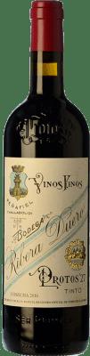 23,95 € Envío gratis | Vino tinto Protos 27 Crianza D.O. Ribera del Duero Castilla y León España Tempranillo Botella 75 cl