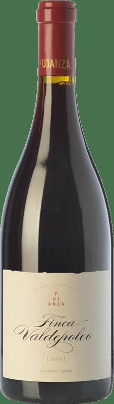 48,95 € Kostenloser Versand | Rotwein Pujanza Finca Valdepoleo Crianza D.O.Ca. Rioja La Rioja Spanien Tempranillo Magnum-Flasche 1,5 L