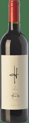 12,95 € Envío gratis | Vino tinto Pujanza Hado Crianza D.O.Ca. Rioja La Rioja España Tempranillo Botella 75 cl