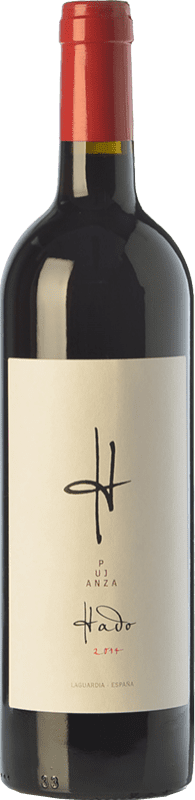 12,95 € Free Shipping | Red wine Pujanza Hado Crianza D.O.Ca. Rioja The Rioja Spain Tempranillo Bottle 75 cl