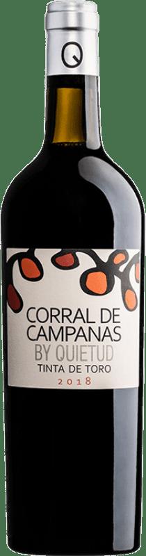 12,95 € Free Shipping | Red wine Quinta de la Quietud Corral de Campanas Joven D.O. Toro Castilla y León Spain Tinta de Toro Bottle 75 cl