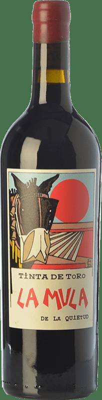 59,95 € Free Shipping | Red wine Quinta de la Quietud La Mula de la Quietud Crianza D.O. Toro Castilla y León Spain Tinta de Toro Bottle 75 cl