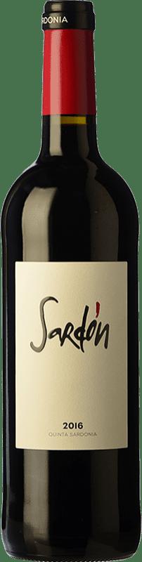 11,95 € Free Shipping | Red wine Quinta Sardonia Sardón Crianza I.G.P. Vino de la Tierra de Castilla y León Castilla y León Spain Tempranillo, Grenache, Cabernet Sauvignon, Malbec Bottle 75 cl