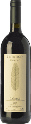 59,95 € Free Shipping | Red wine Bruno Rocca Coparossa D.O.C.G. Barbaresco Piemonte Italy Nebbiolo Bottle 75 cl