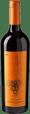 9,95 € Free Shipping | Red wine Rafael Cambra Dos Crianza D.O. Valencia Valencian Community Spain Cabernet Sauvignon, Monastrell, Cabernet Franc Bottle 75 cl