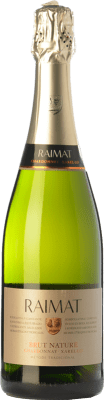 7,95 € Free Shipping | White sparkling Raimat Brut Nature Joven D.O. Cava Catalonia Spain Xarel·lo, Chardonnay Bottle 75 cl | Thousands of wine lovers trust us to get the best price guarantee, free shipping always and hassle-free shopping and returns.