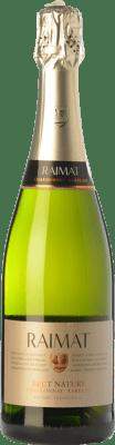 8,95 € Free Shipping | White sparkling Raimat Chardonnay Xarel·lo Brut Nature D.O. Cava Catalonia Spain Xarel·lo, Chardonnay Bottle 75 cl
