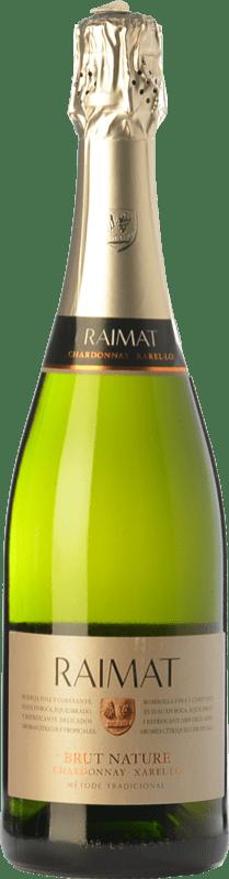 7,95 € Envoi gratuit | Blanc moussant Raimat Chardonnay Xarel·lo Brut Nature D.O. Cava Catalogne Espagne Xarel·lo, Chardonnay Bouteille 75 cl