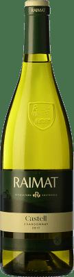 6,95 € Envoi gratuit | Vin blanc Raimat Castell D.O. Costers del Segre Catalogne Espagne Chardonnay Bouteille 75 cl