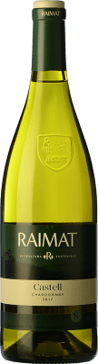 7,95 € Free Shipping | White wine Raimat Castell D.O. Costers del Segre Catalonia Spain Chardonnay Bottle 75 cl