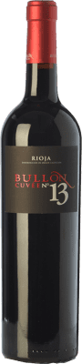 42,95 € Free Shipping | Red wine Ramírez de Inoriza Bullón Cuvée Nº 13 Reserva D.O.Ca. Rioja The Rioja Spain Tempranillo Bottle 75 cl