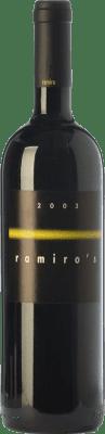 47,95 € Free Shipping | Red wine Ramiro Reserva 2009 I.G.P. Vino de la Tierra de Castilla y León Castilla y León Spain Tempranillo Bottle 75 cl