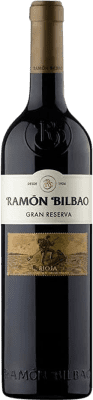 19,95 € Free Shipping | Red wine Ramón Bilbao Gran Reserva 2010 D.O.Ca. Rioja The Rioja Spain Tempranillo, Grenache, Graciano Bottle 75 cl | Thousands of wine lovers trust us to get the best price guarantee, free shipping always and hassle-free shopping and returns.
