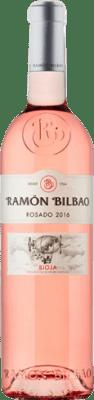 7,95 € Free Shipping | Rosé wine Ramón Bilbao D.O.Ca. Rioja The Rioja Spain Grenache Bottle 75 cl