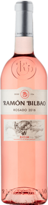 7,95 € Free Shipping | Rosé wine Ramón Bilbao D.O.Ca. Rioja The Rioja Spain Grenache Bottle 75 cl